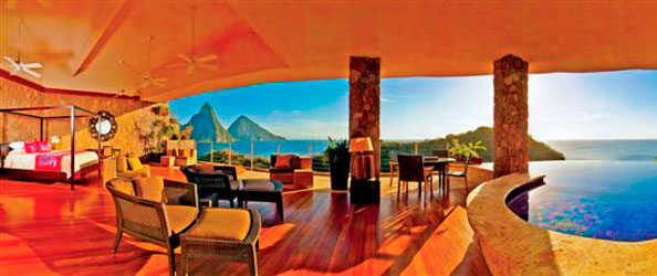 room without walls without walls why st lucias jade mountain is no ordinary hotel