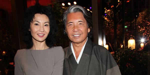 Maggie Cheung and Kenzo Takada