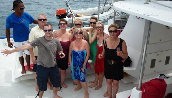barbados fam boat trip