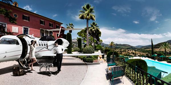 Victor private jet