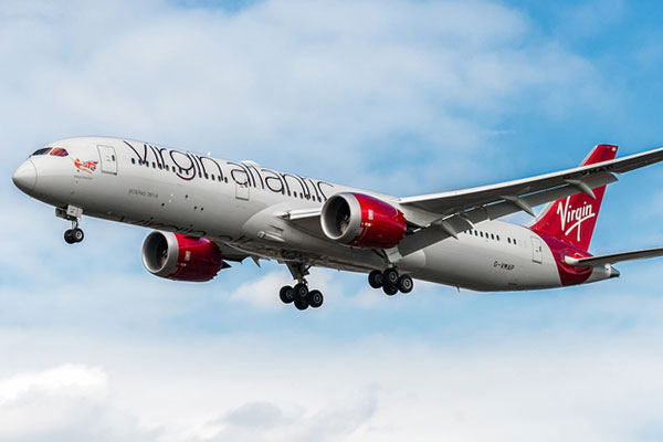 Virgin Atlantic hails 22% reduction in carbon emissions over nine years