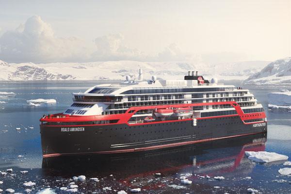 Hurtigruten delays new Roald Amundsen ship's maiden voyage