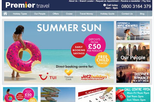 Premier Travel shortlisted for business award