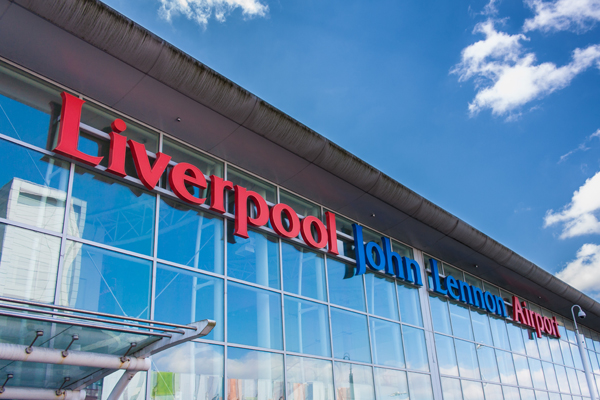 Liverpool John Lennon airport sees passenger growth of 3% in first half of year