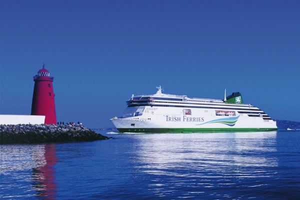 Irish Ferries suffers new vessel delay and flagship cancellations