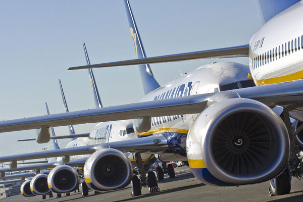 Ryanair cancels 600 flights ahead of strikes