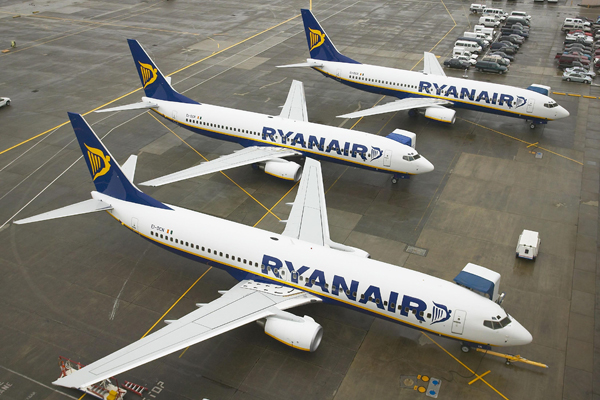 Ryanair cancels 30 flights after pilots vote to strike