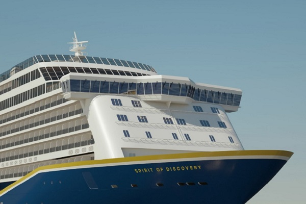 Spirit of Discovery to be christened at Port of Dover