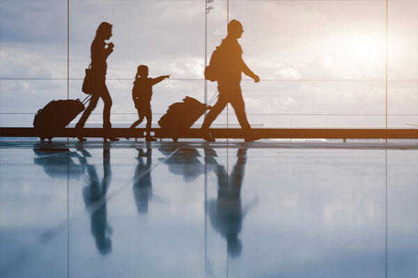 Families 'more likely to take multiple holidays'