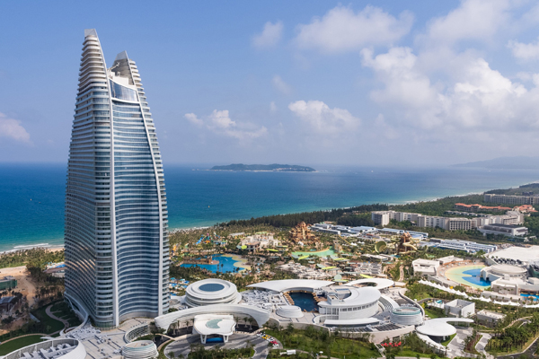 First Atlantis resort in China opens on island of Hainan