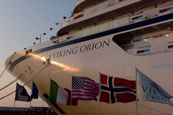 Viking Cruises takes delivery of line's fifth ship built by Fincantieri