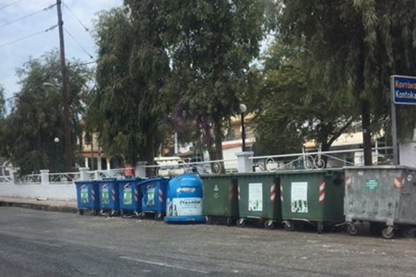 Corfu rubbish problem 'resolved'
