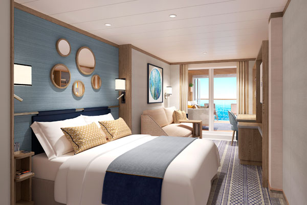 New P&O Cruises ship to offer suites with conservatories