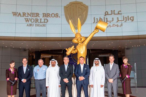 Etihad agrees partnership with Abu Dhabi's Warner Bros. theme park