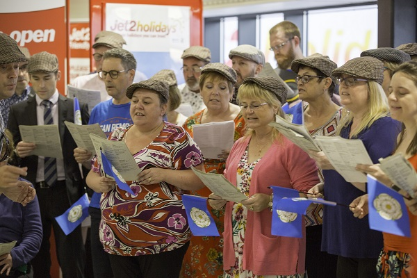 Jet2holidays passengers get Yorkshire Day send-off