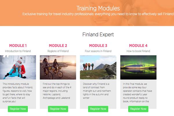 Visit Finland launches travel agent training portal