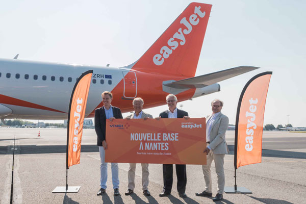 EasyJet to open Nantes base