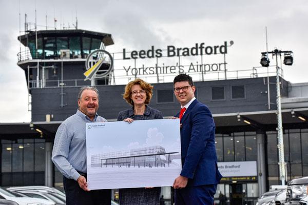 Yorkshire airport reveals multi-million pound terminal expansion